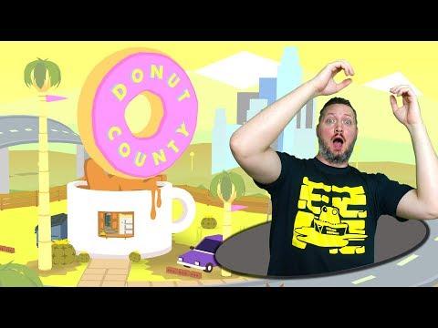 VI ER ET HUL! - Donut County Dansk Ep 1