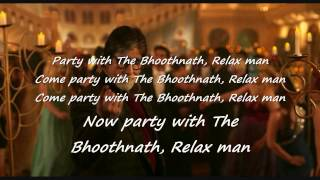 Party With Boothnath Lyrics | yo yo Honey Singh | Boothnath Returns | Amitabh Bachchan