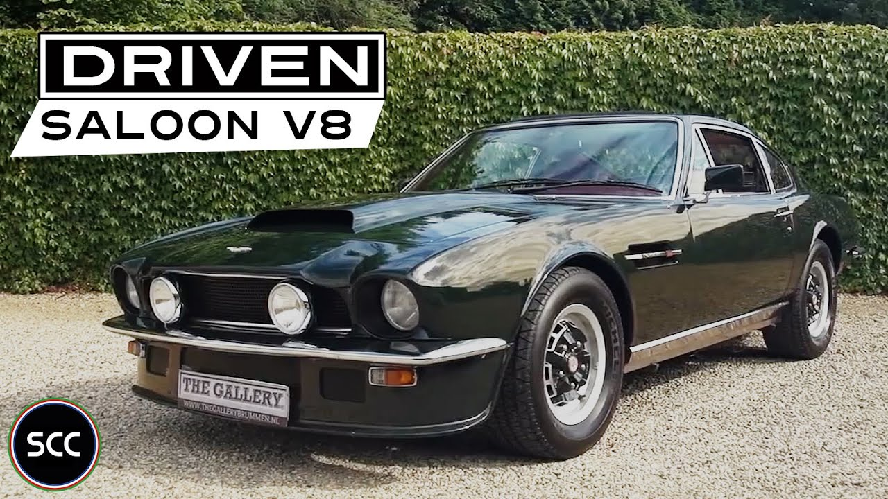 Aston Martin V8 Vantage Saloon 1978 Test Drive In Top Gear V8 Engine Sound Scc Tv Youtube