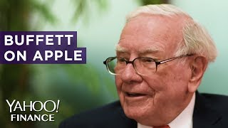 Gambar cover Warren Buffett compares investing in Apple to farming
