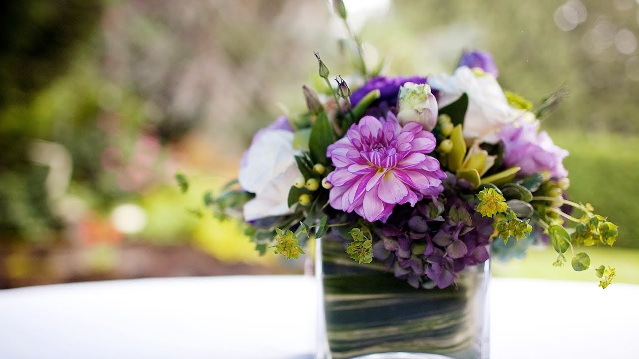 How To Budget For Wedding Centerpieces Wedding Flowers Youtube