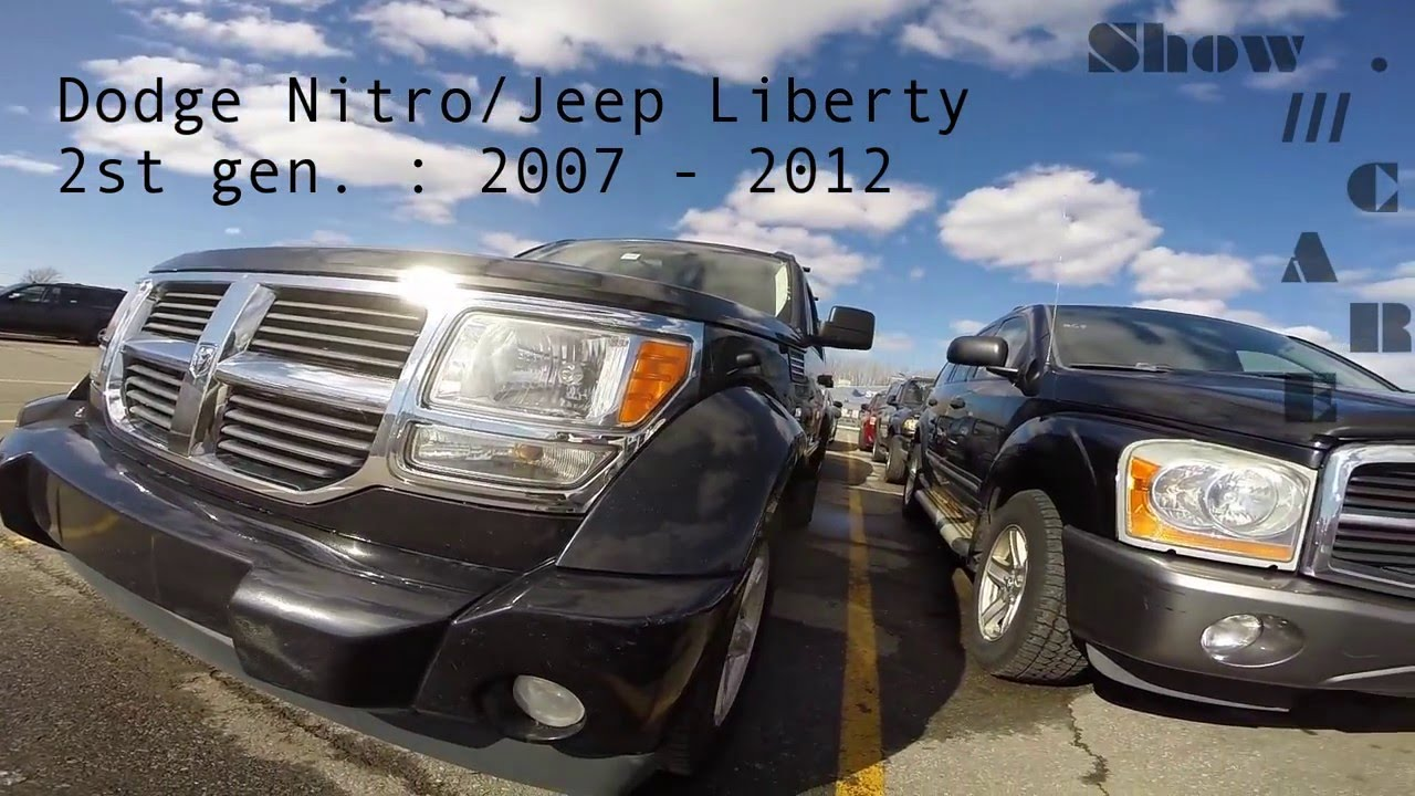 Jeep Liberty/Dodge Nitro [2007:2012]   Review