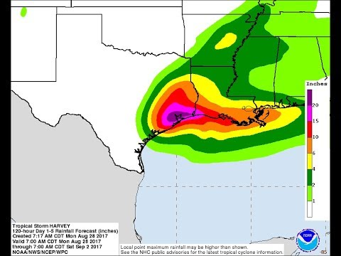 """25""""+ Inches of Rain still to fall for Houston & NEW Mandatory Evacuations ordered"""