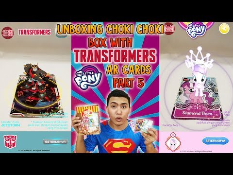 WOW! WOW! WOW! LUCKY OR NOT?! Unboxing Choki Choki Transformers & My Little Pony AR Cards Part 5