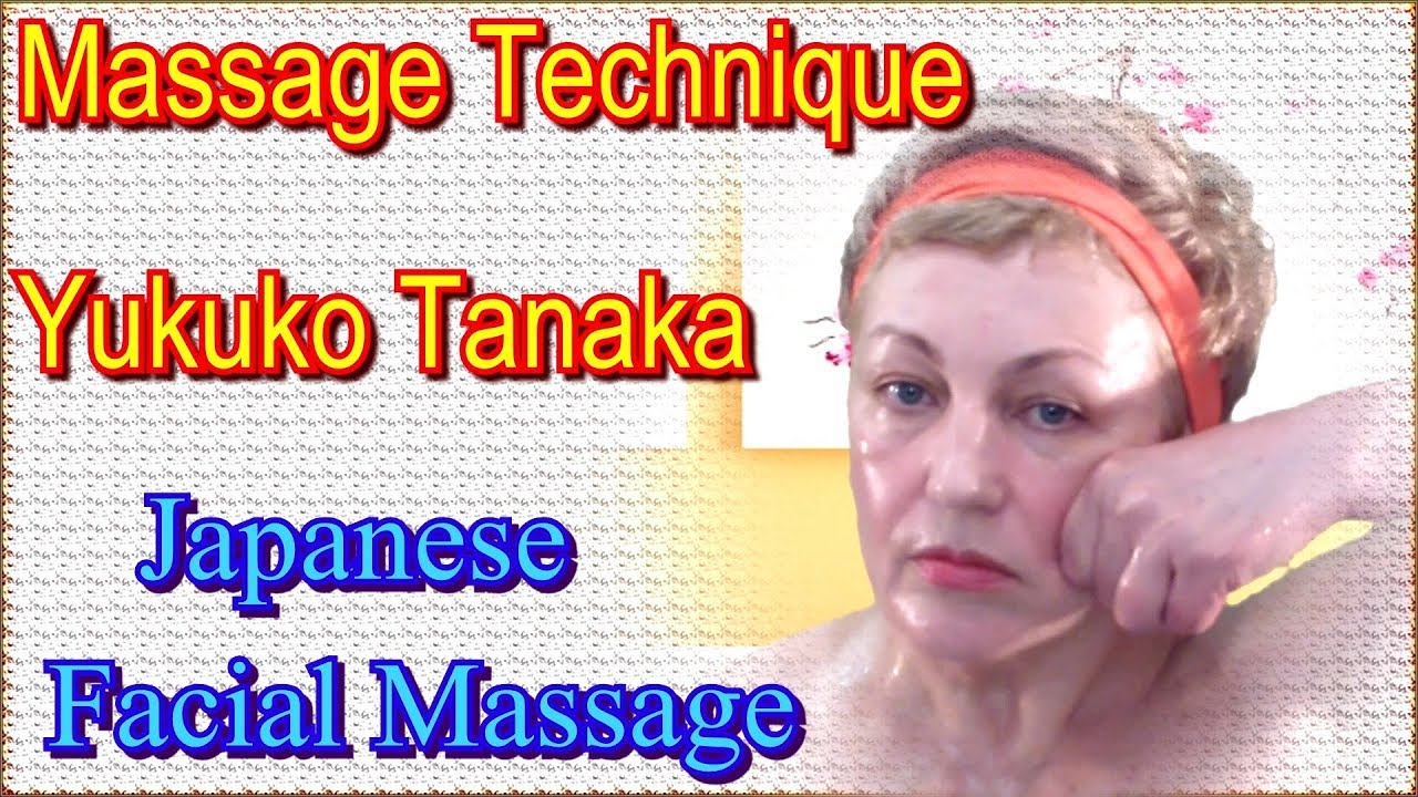 Japanese facial massage video