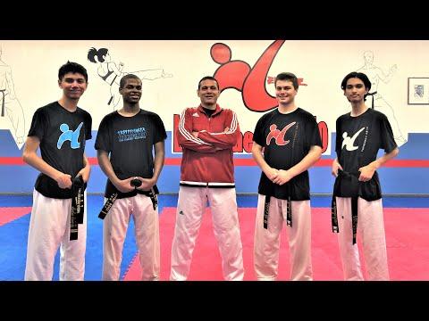 Amazing Taekwondo Boy Breaking Demonstration at Andre Lima Academy USA