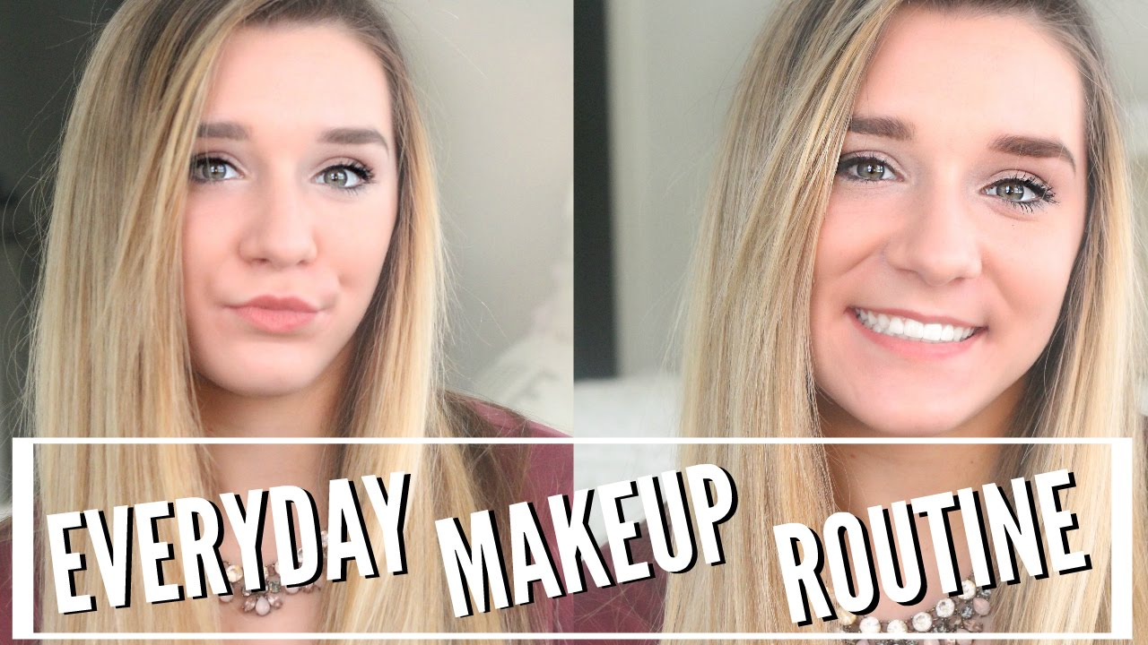 My Everyday Makeup Routine for HIGH SCHOOL! Freshman Year ♡ - YouTube