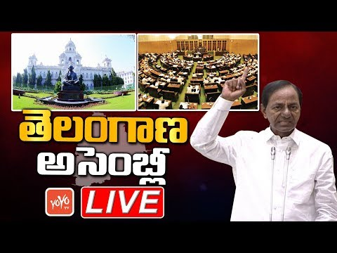 Telangana Assembly LIVE | CM KCR LIVE | Telangana Municipal Act 2019 | YOYO TV LIVE