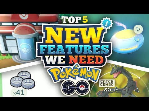TOP 5 NEW FEATURES FOR POKEMON GO! thumbnail