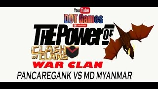 "The Power Of DRAGON vs P.E.K.K.A CLASH OF CLANS""C.O.C"" (WAR CLAN)"