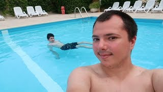 North France Camping Trip! Relaxing Day By The Pool At Château du Gandspette!