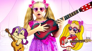 Diana and Roma Make Music for Kids Cartoon