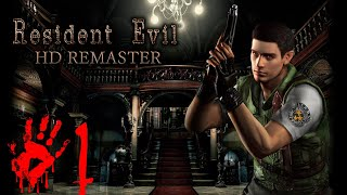 Resident Evil HD Remaster [Chris - PC] walkthrough part 1