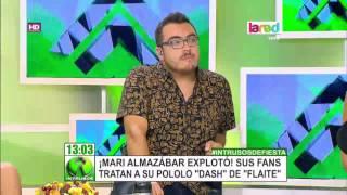 La dura respuesta de Mari Almazábar a quienes insultan y discriminan a su novio Dash