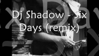 R.I.P Paul Walker 1973-2013 (DJ Shadow - Six Days (Remix)