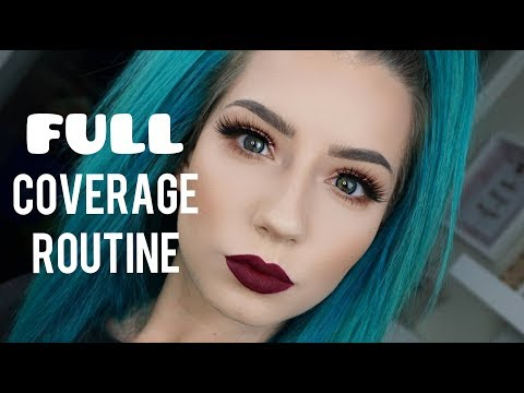 Full Coverage & Flawless Skin Routine | Quickie Tutorial