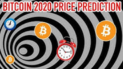BITCOIN PRICE PREDICTION 2020 - $50K, $100K or $2K???