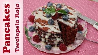 Pancakes de Terciopelo Rojo – Especial San Valentin – Mi Cocina Rápida
