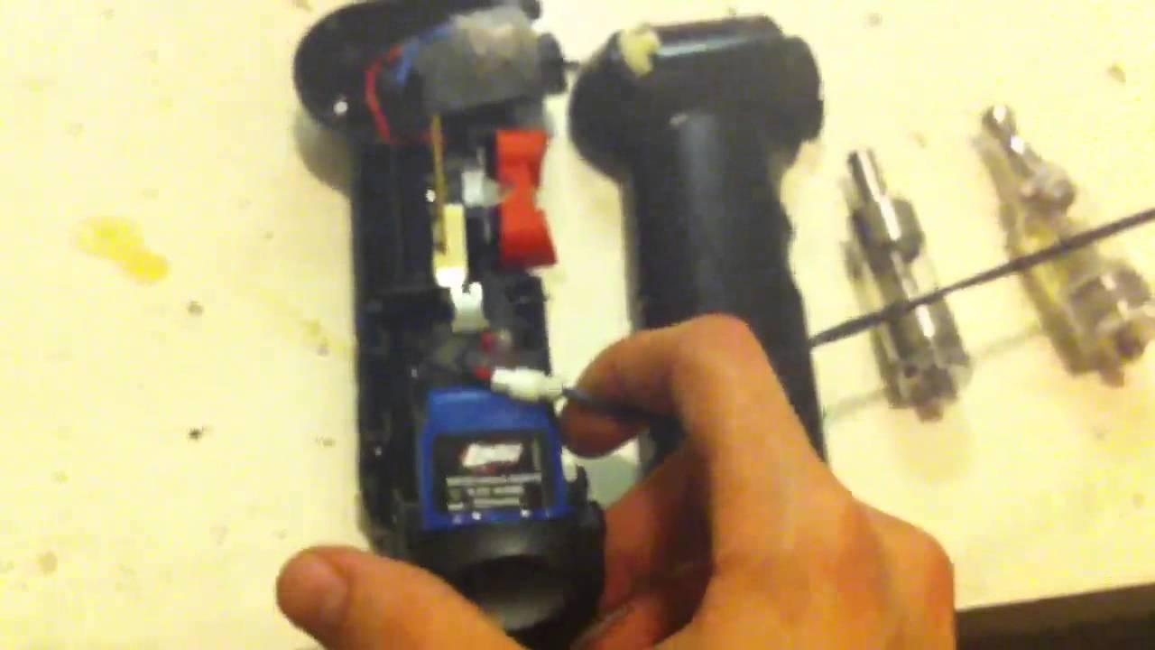 Homemade e cig mod battery DIY