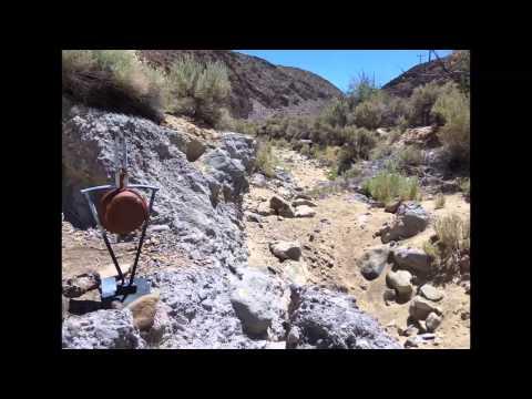 Mining in Gold Canyon near Dayton, NV