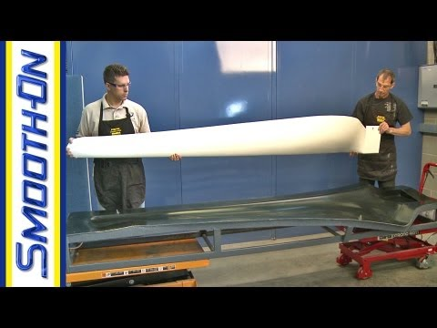 Resin Infusion Demo: Wind Blades Made With Custom Vacuum Bag