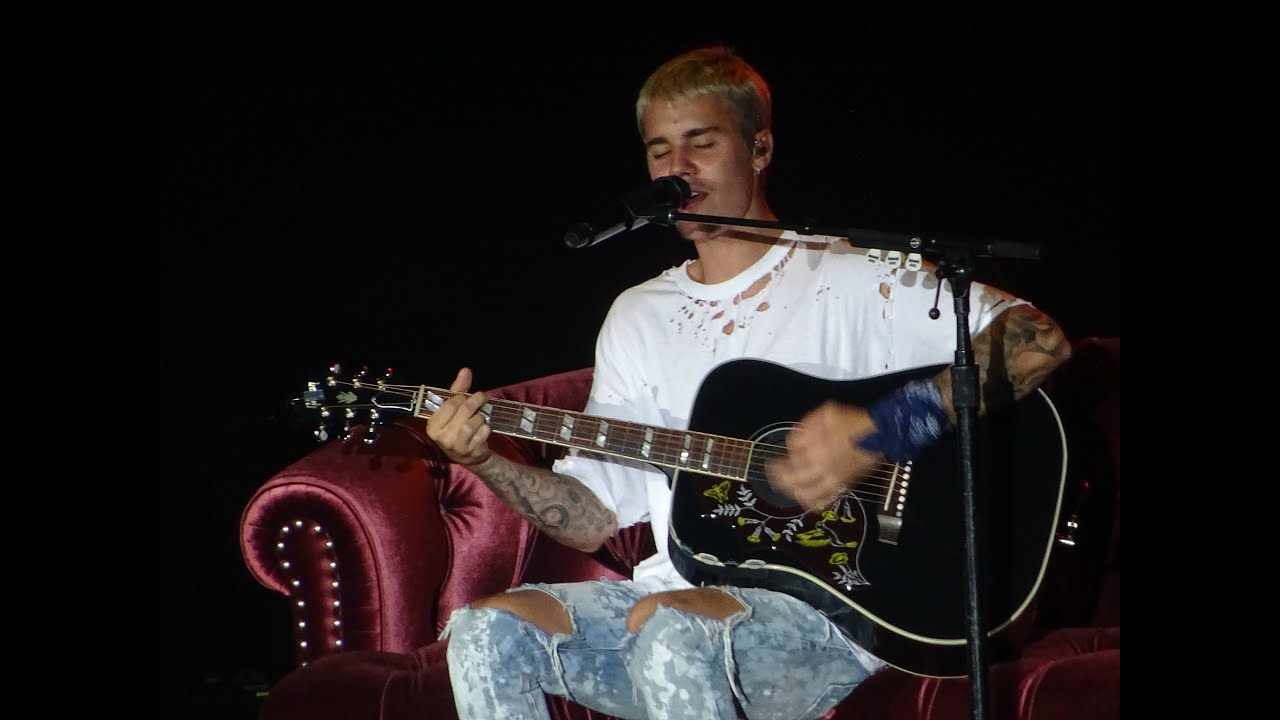 Justin Bieber Love Yourself Live At Madison Square Garden July 19 Youtube