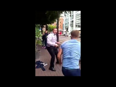 Ozzy Man Reviews: Irish Bouncer vs Drunkards