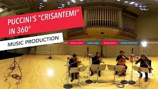 360 Video Performance: Puccini's 'Crisantemi' | String Quartet | Ambisonics | VR | Berklee Part 7/7 thumbnail