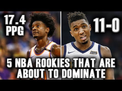 5 Rookies That Are About To Dominate After The NBA All Star Break
