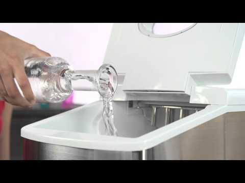 h.koenig eiswürfelmaschine kb15 - youtube