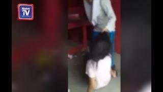 Gadis dibelasah gadis kerana telefon bimbit