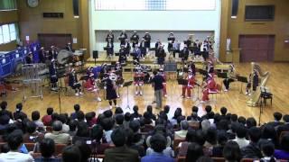 2015年12月27日 第2回クリスマスコンサートより 越谷北高校吹奏楽部 大...