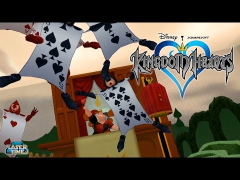 Kingdom Hearts - PART 5: Alice v Wonderland