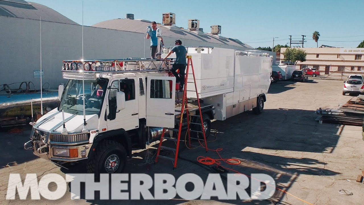 The Ultimate Explorer Vehicle Test Driving Bran Ferren S
