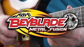 Beyblade Metal Fusion/Masters/Fury Theme on Guitar