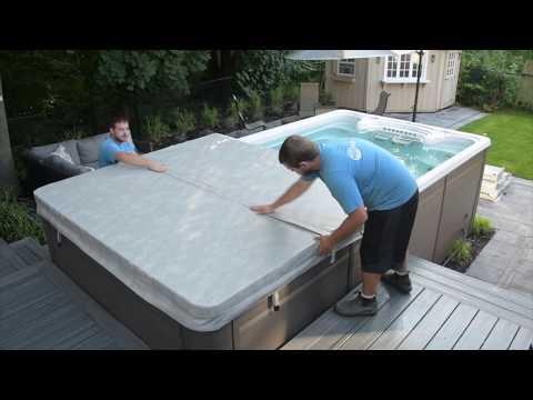 Amazing Swim Spa Installation