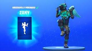 Baixar *NEW* ZANY EMOTE DANCE!! Fortnite Battle Royale