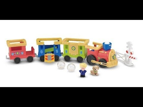 Fisher-Price Little People Load & Go Train Playset
