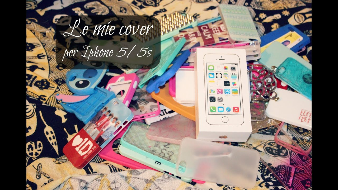 le mie cover per iphone 5 5s youtube. Black Bedroom Furniture Sets. Home Design Ideas