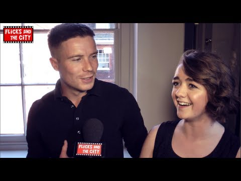 Game of Thrones Maisie Williams & Joe Dempsie Interview - Arya Stark & Gendry