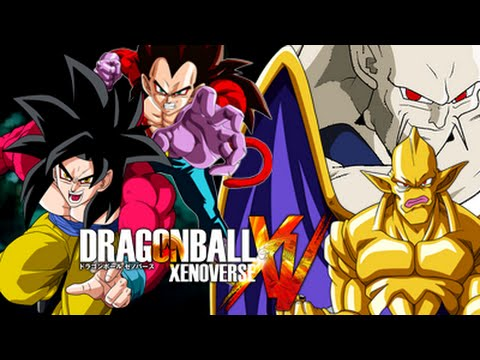 Dragon ball xenoverse ssj4 goku vegeta vs omega - Dragon ball xenoverse ss4 vegeta ...
