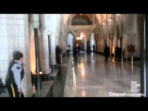 Ottawa shooting: shots fired inside Canadian parliament building