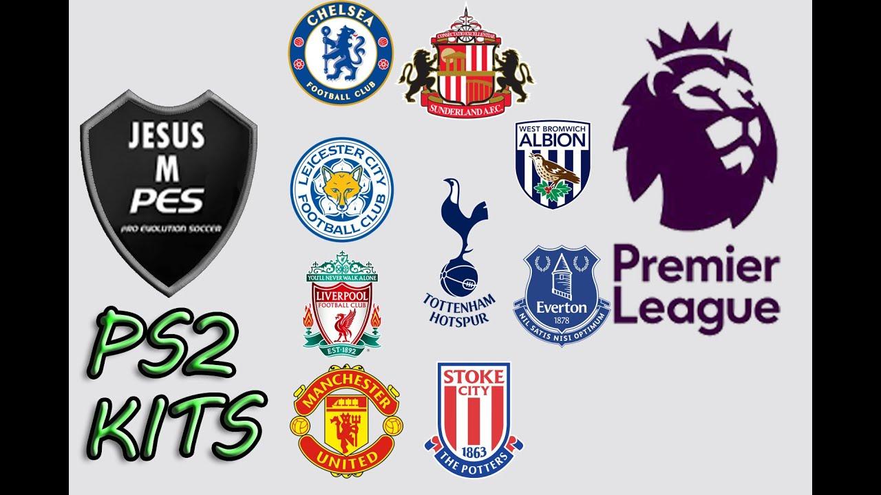 Premier League Clubs: (PS2)(9 Teams) Premier League KITPACK 2016/2017