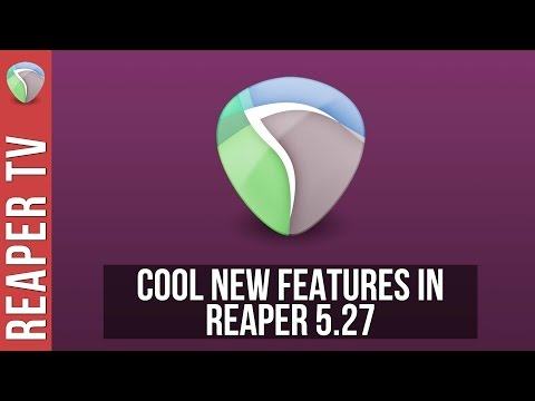 New Features in Reaper DAW 5.27 - Output Music Notation to PDF & More...