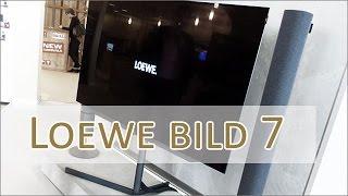 IFA 2016: Loewe bild7 - UHD OLED 4K Display mit Soundbar