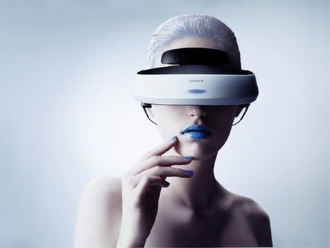 Gafas de Realidad Virtual de SONY para PS3 y PS4