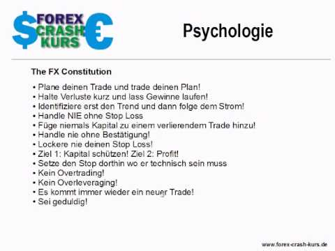 Forex crash kurs