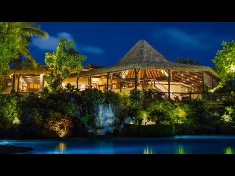 Pacific resort aitutaki in the cook islands small luxury for Luxury hotels of the world