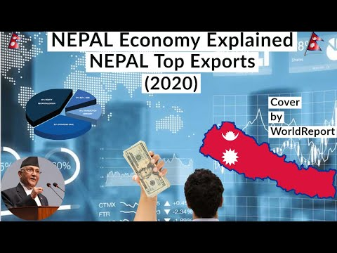 Nepal Economy Detail Explained - Impact and Opportunities in (2020) | cover by WorldReport