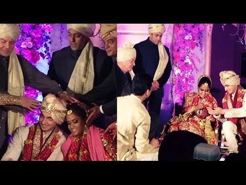 Katrina Kaif Karan Johar Aamir Khan At Salman S Sister Arpita Wedding Marriage Video